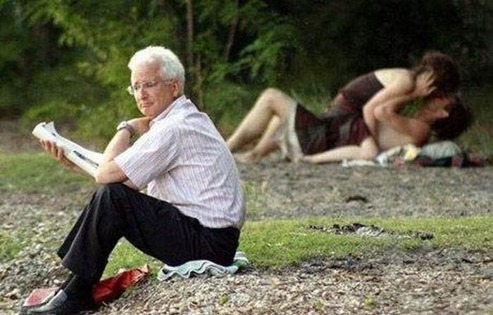 Влюбленные парочки трахнулись в людных местах - секс порно фото